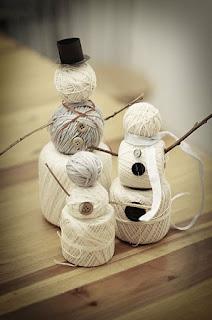 Unos muñecos de Nieve muy Fáciles de Hacer, Materiales Reciclados y Recuperables, Decoración de Navidad