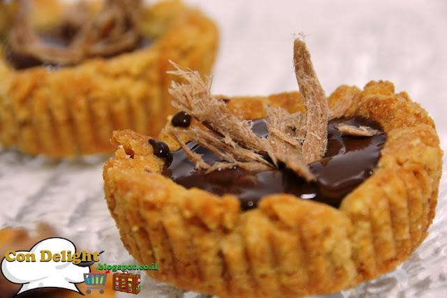 עוגיות טחינה ושוקולד Tahini and chocolate cookies con delight