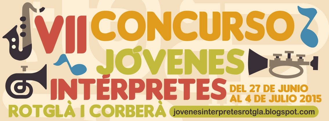 Jóvenes intérpretes Rotglà i Corberà