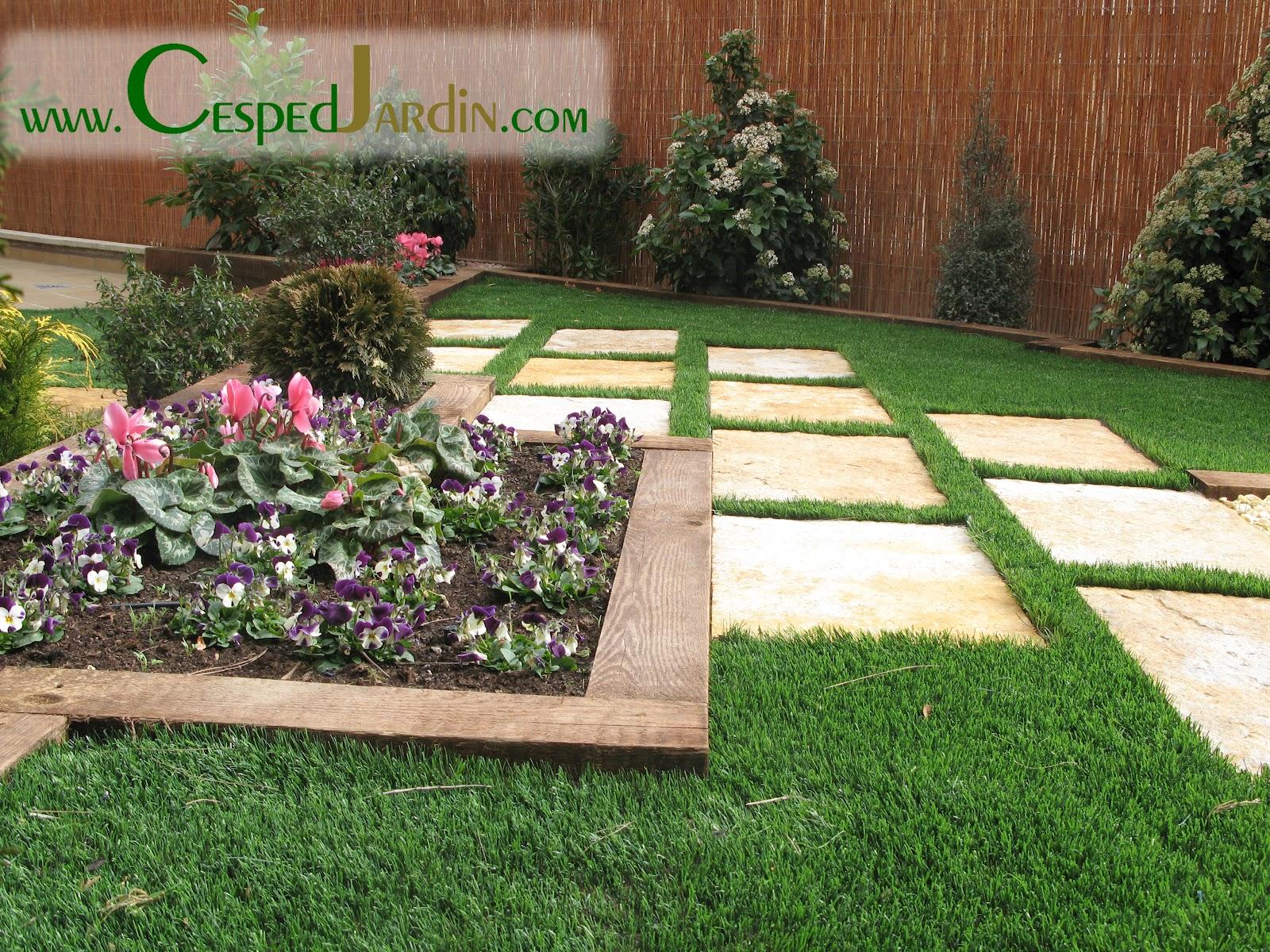 Cespedjardin c sped artificial jardiner a y paisajismo for Cesped artificial para jardin
