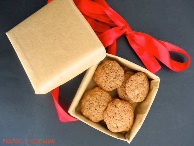 prazer a cozinhar - Triple chocolate chip cookies
