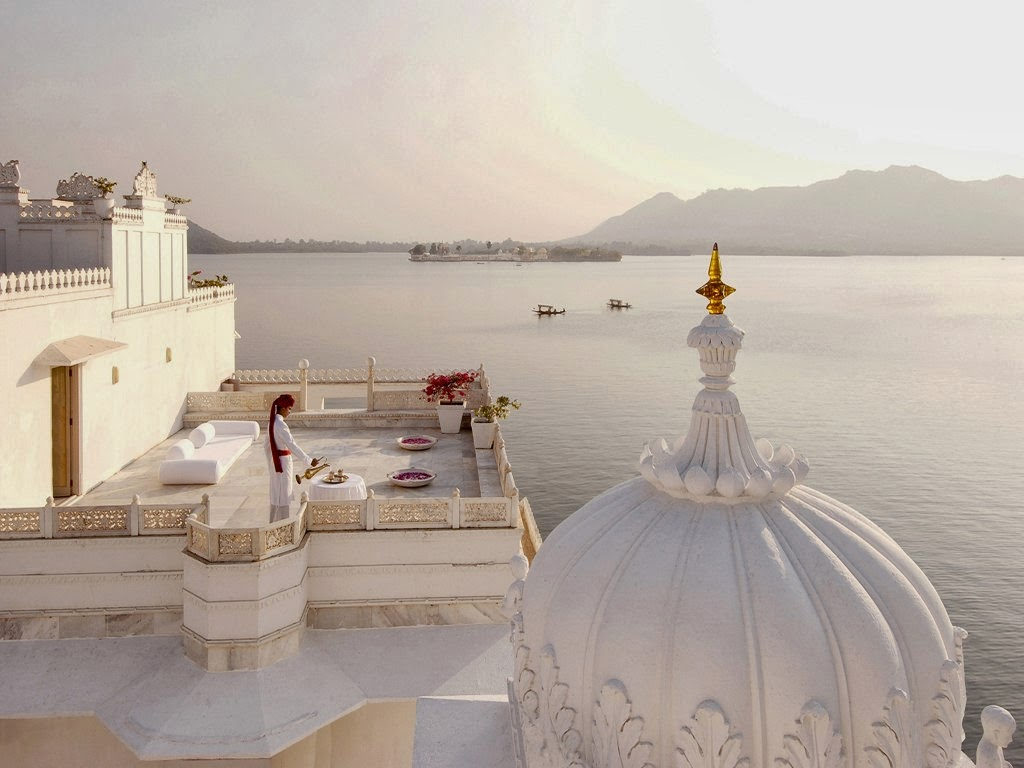 Taj Lake Palace has been voted the most romantic hotel in India