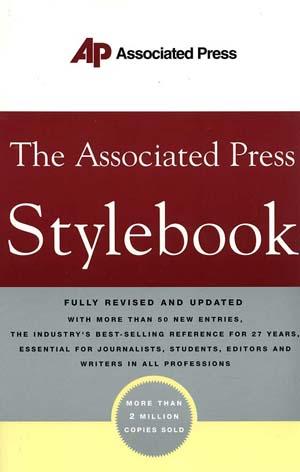 gaya selingkung ap stylebook