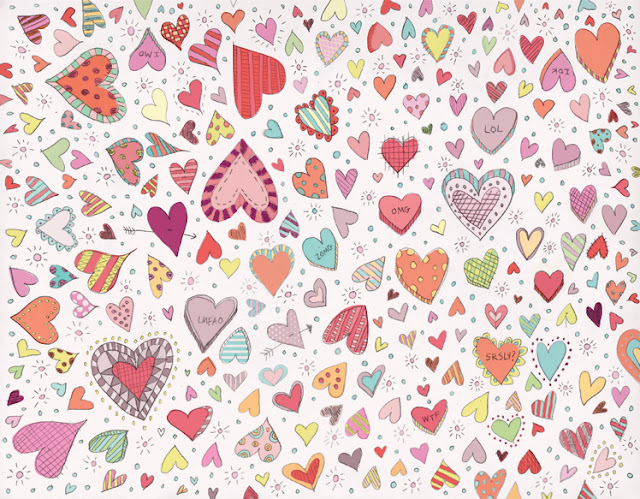 Doodle Designs Heart New Doodle Lots of Hearts