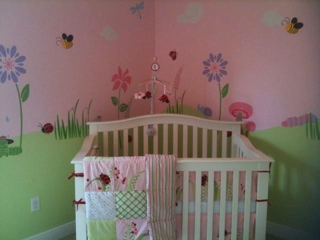 nursery wall stencil kits