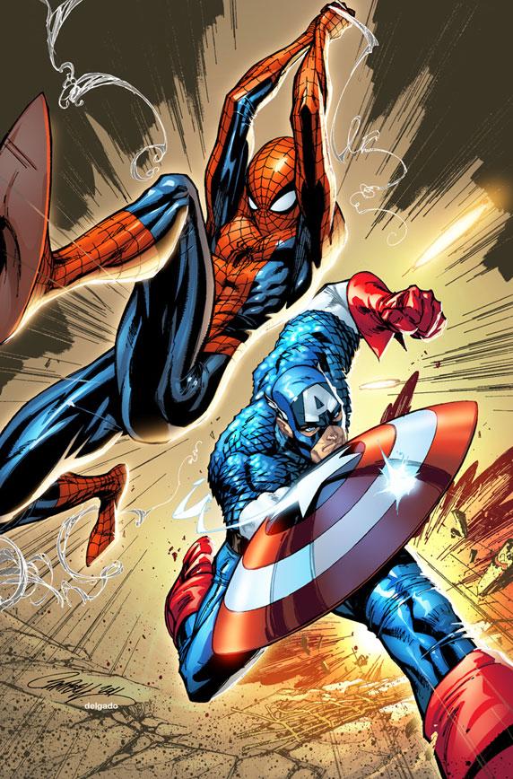 Spider-Man, Capitán América, civil war, vengadores, marvel, sony, el zorro con gafas