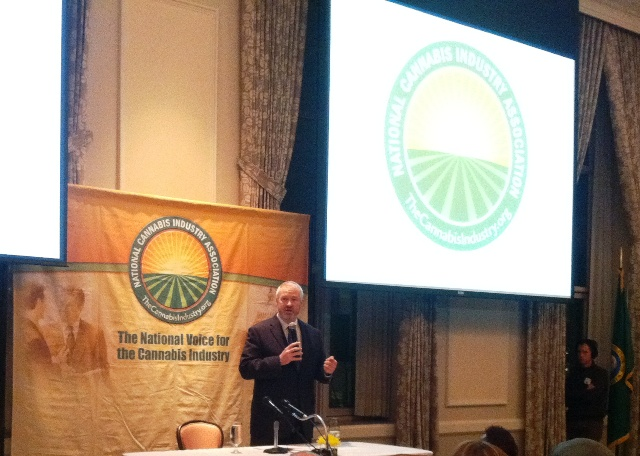 Mike McGinn at I 502 Cannabis Industry Meeting