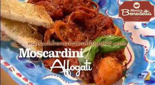 Moscardini affogati ricetta parodi da i men di benedetta for Cucinare moscardini