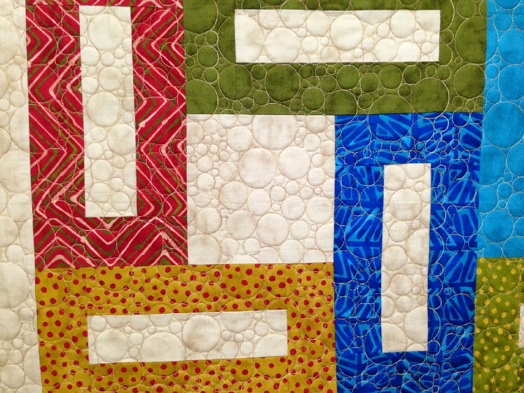 Trish Wells's Modern Squares Quilt