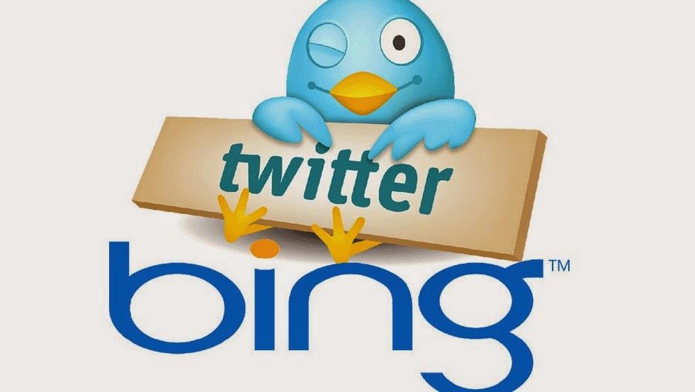 Bing + Twitter