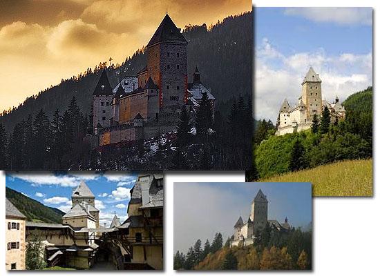 Lugares Assombrados - Castelo Moosham - Áustria