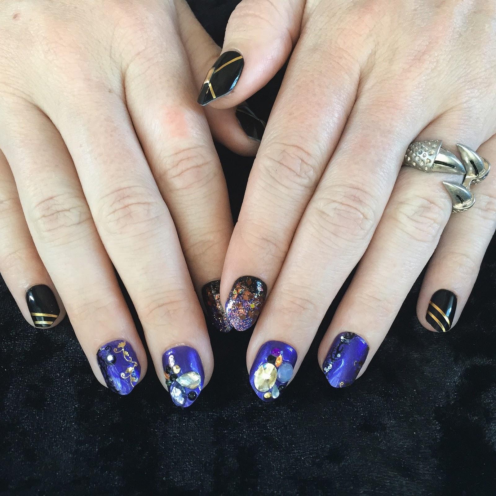 MINI PENNY: You\'ve Got Nail 43 // Good & Evil Maleficent Nail Kit