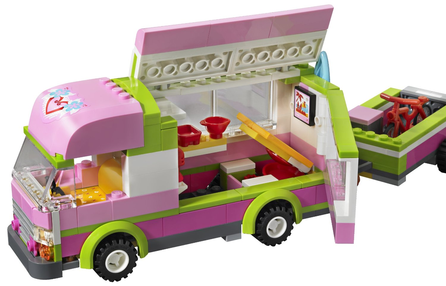 begcanteq item 3077 pre order lego friends 3184 adventure camper. Black Bedroom Furniture Sets. Home Design Ideas