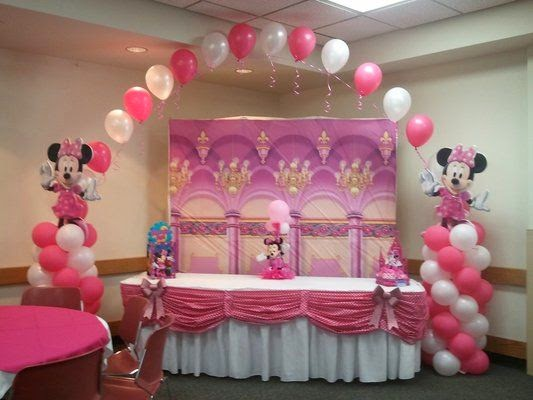 MuyAmeno.com: Fiestas Infantiles Decoradas con Minnie Mouse, parte 1