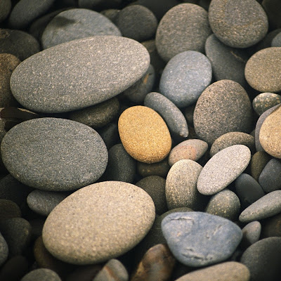 Beach Pebbles Wallpaper 1024x1024
