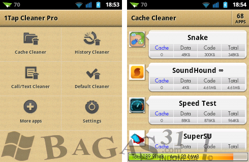 1Tap Cleaner Pro 1.63 for Android 2