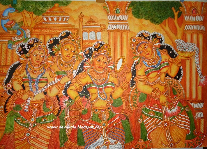 Mural paintings for Buy kerala mural paintings online