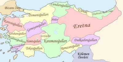 Anadolu Selçuklu Devleti'nin Dağılmasıyla kurulan Beylikler