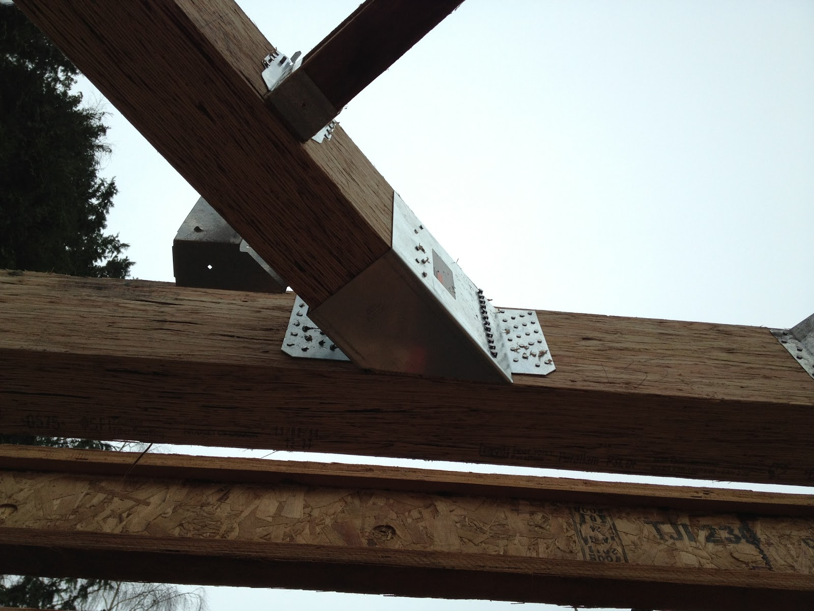 Beam joist hangers pictures to pin on pinterest pinsdaddy for Rafter beam