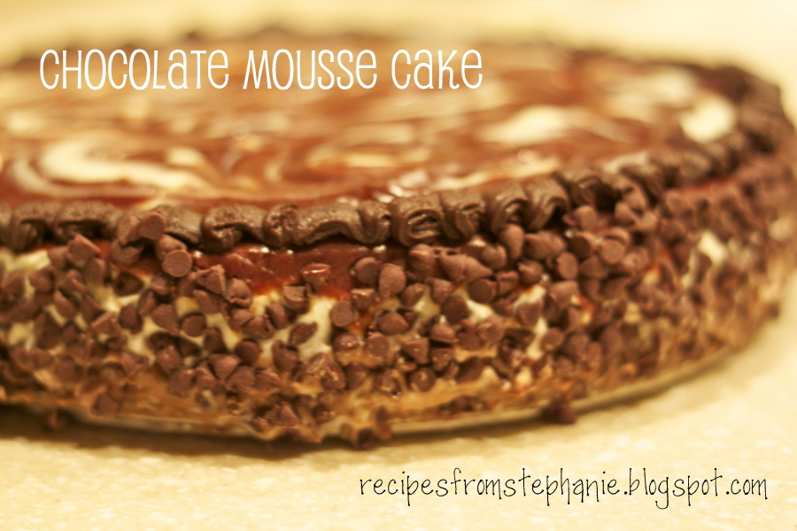 Recipes From Stephanie Chocolate Mousse Cake Olive Garden Style