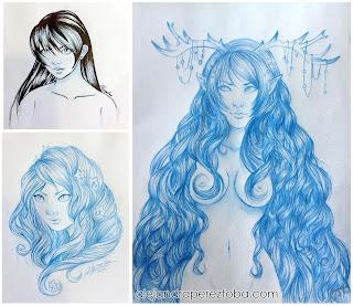 Dibujos que hice en hobbycon