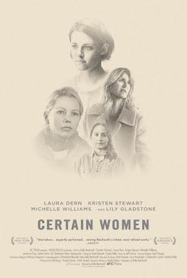 Certain Women 2016 DVD R1 NTSC Sub