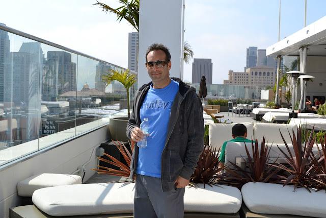 Andaz San Diego roof Hyatt Hotel #cbias