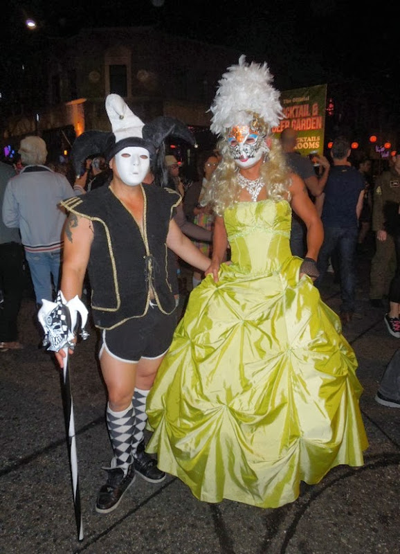 Venetian Mardi Gras costumes West Hollywood Halloween