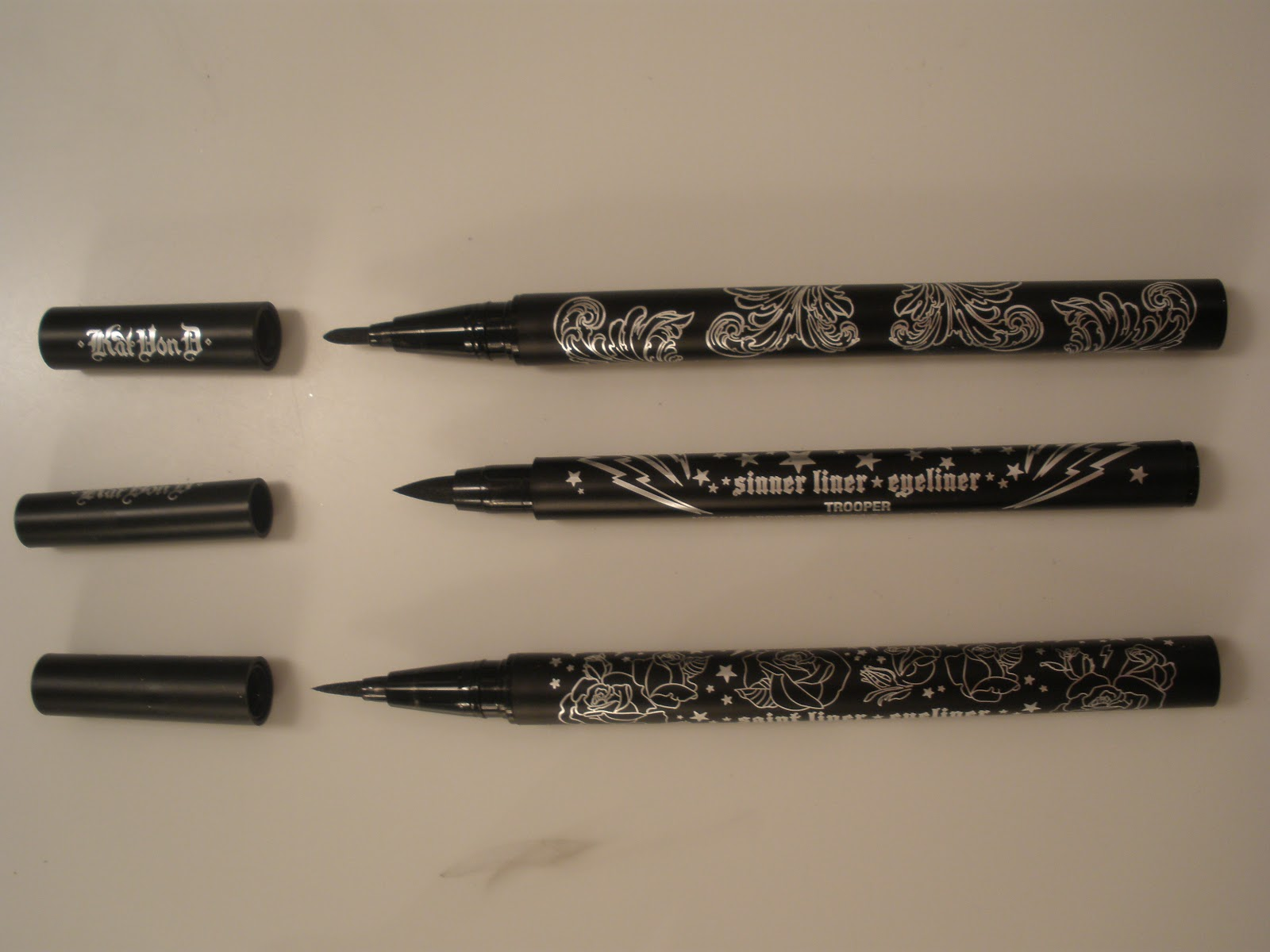 Color Blinded Kat Von D Triple Threat Tattoo Eyeliner