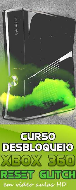 Curso Desbloqueio Xbox360