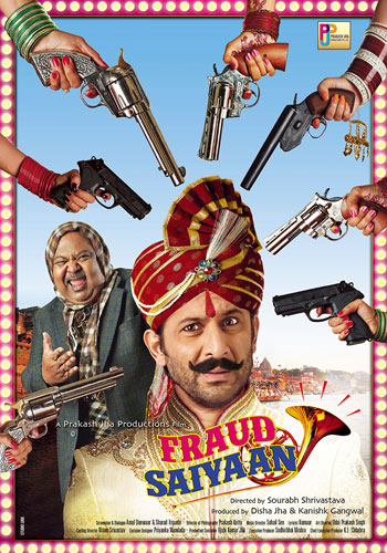 full cast and crew of bollywood movie Fraud Saiyaan! wiki, story, poster, trailer ft Arshad Warsi, Sara Loren, Saurabh Shukla