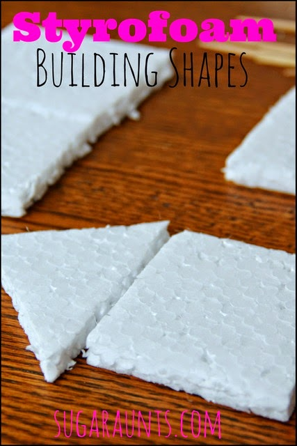 how to cut styrofoam into shapes