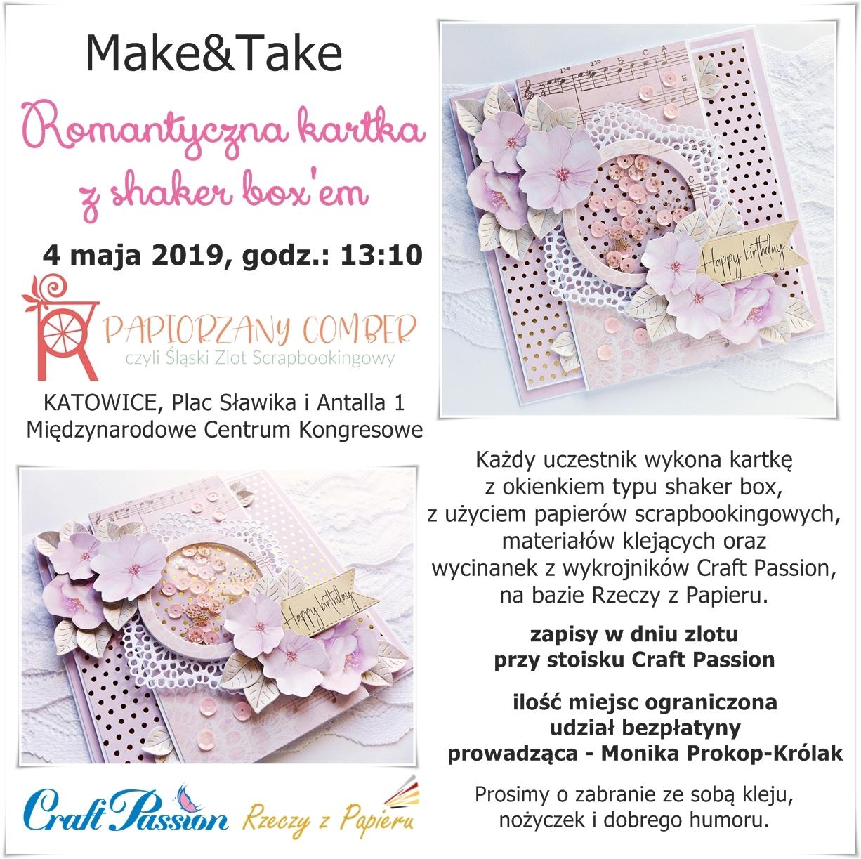 Make&Take w Katowicach 4.05.2019