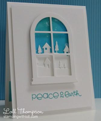 открытка к Рождеству МИР НА ЗЕМЛЕ