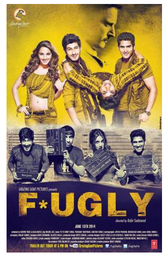 Fugly 2014 Movie ScamRip 350MB Torrent Download