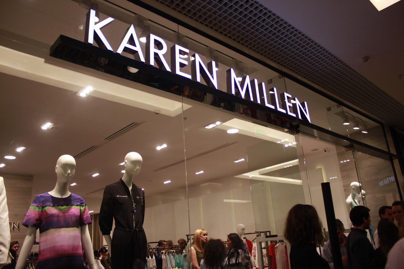 08f4f1c0 Con su nueva apertura de tienda durante este año en el mall Casacostanera,  la marca de moda internacional Karen Millen trae a Chile por primera vez su  moda ...