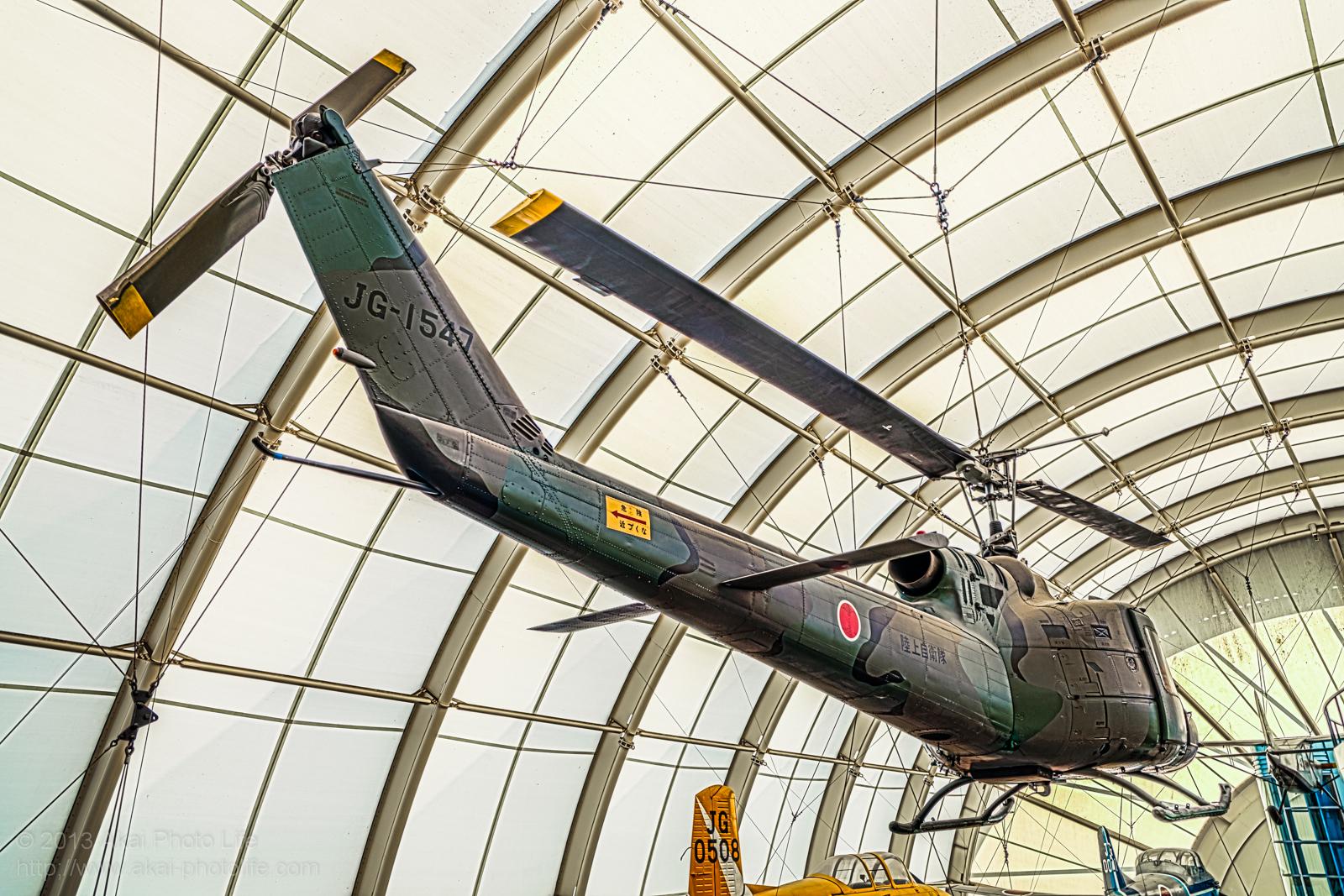 ベル 204B UH-1B(HU-1B)の写真