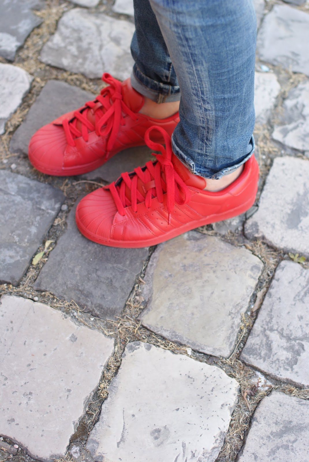 adidas supercolor red on Fashion and Cookies fashion blog, fashion blogger style