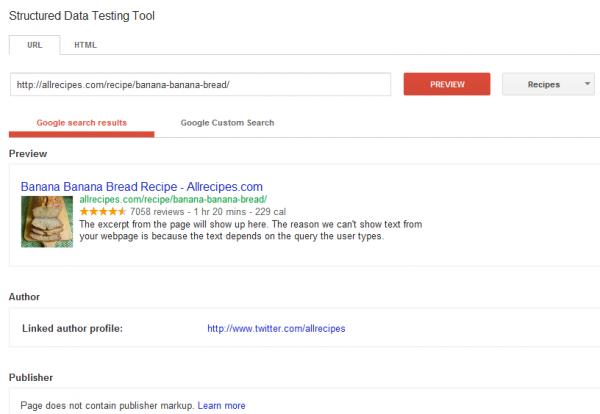 Google testing tools