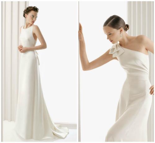 Vestidos de novia sencillos elegantes y bonitos | 2013 Vestidos: de ...