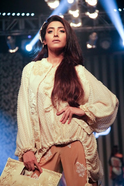 Pakistani fashion designer Shamaeel Ansari's collection
