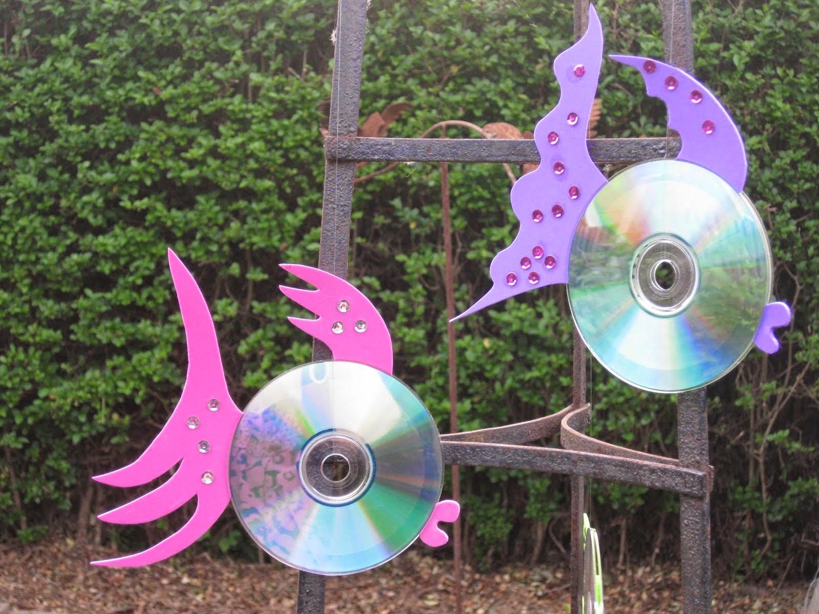 Что можно сделать из старых компакт-дисков: 6 идей. - Квартблог 6