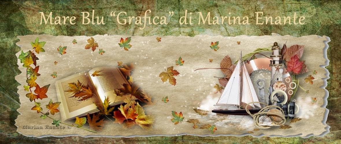 """Mare blu """" Grafica """" di Marina Enante"""