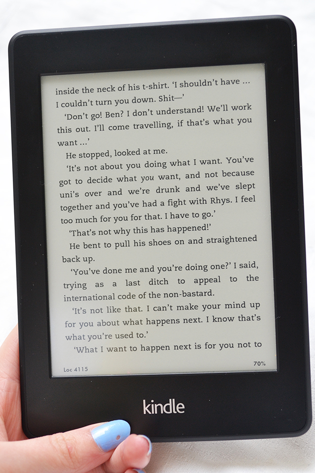 kindle paperwhite e-reader review uk