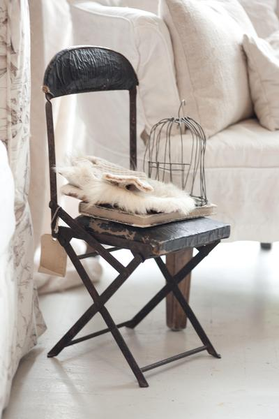 Un atico shabby chic shabby chic penthouse - Aticos en silla ...