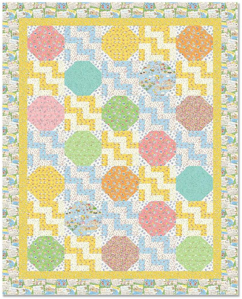 Quilt Patterns Snowball Block : Quilt Inspiration: Free Pattern Day: Snowball Quilts