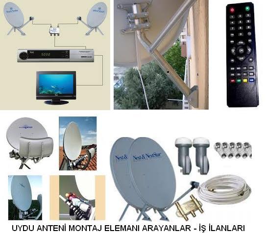 Çanak ve uydu anteni montaj elemanı arayanlar uydu anten montaj