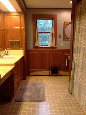 Farmhouse Bathroom Remodel Done
