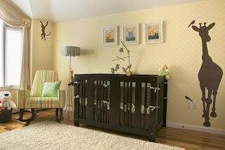 Dormitorio bebé crema marrón