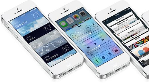iOS 7 for iPhone, iPad and iPod